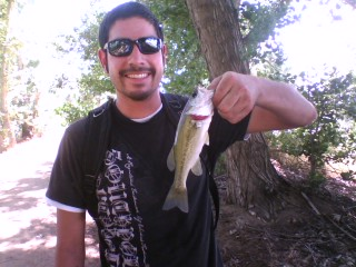 my smallest catch biggest fight