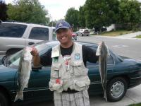 Stripers are active!
