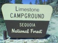 Limestone Campground - Sequioa National Forest